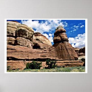 Tower Rock - Canyonlands National Park Print