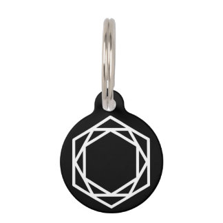 Tower (+/-) / Round Small Pet Tag