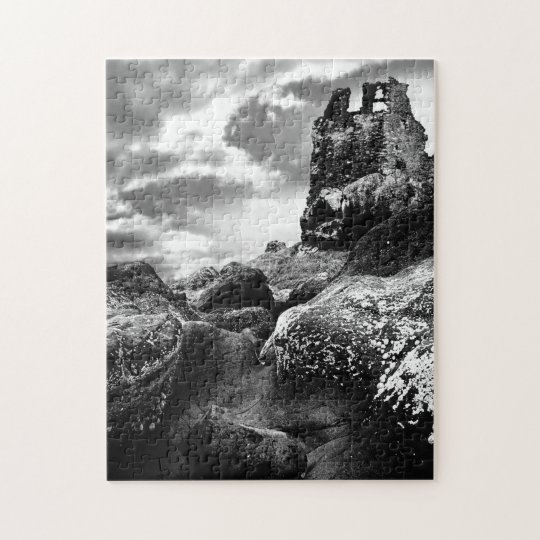 Tower Ruins of Dunure Castle Ayrshire Scotland Jigsaw Puzzle