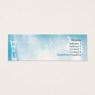 Tower - Skinny Mini Business Card