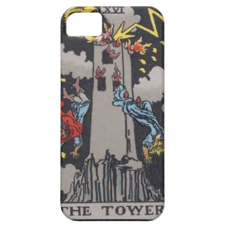 Tower Tarot card image iPhone 5 Cover