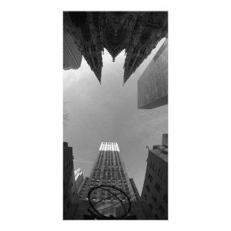Towering Heights Custom Photo Card