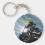 Towering Pines Keychain