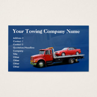 71 Towing Business Cards and Towing Business Card
