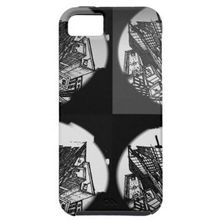 town center 3 POINT perspective black & white Case For The iPhone 5