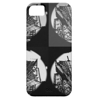 town center 3 POINT perspective black & white iPhone 5 Cases