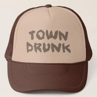 Town Drunk trucker cap