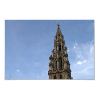 Town Hall Brussels Photo Art