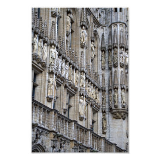 Town Hall Brussels Photo Print