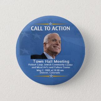 Town Hall Denver CO Button