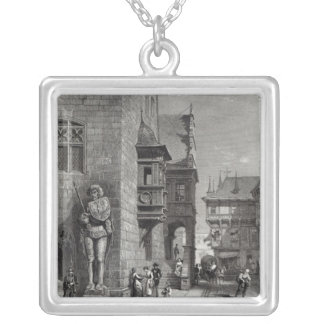 Town Hall, Halberstadt Silver Plated Necklace