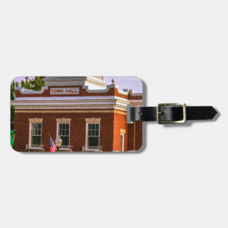Town Hall Luggage Tag