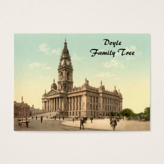 Town Hall, Portsmouth, Hampshire, England Business Card