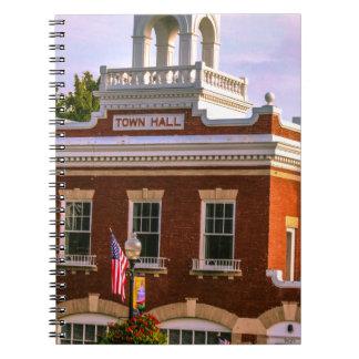 Town Hall Spiral Notebook