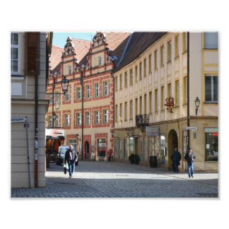 Town of Ansbach Germany Photo Art