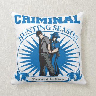 Town Of Killian Louisiana Criminal Hunting Season Pillows