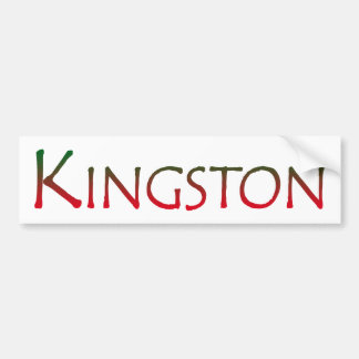 Town of Kingston MA Bumper Sticker