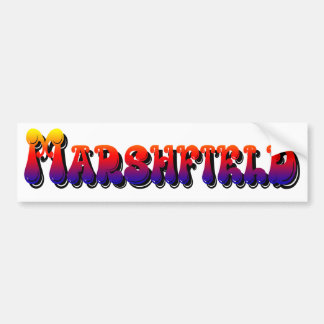 Town of Marshfield MA Bumper Sticker