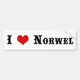 Town of Norwell MA Bumper Sticker