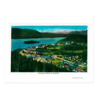 Town View of Cordova, AlaskaCordova, AK Postcard
