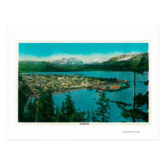 Town View of Seward, AlaskaSeward, AK Postcard