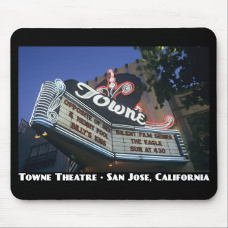 Towne Theatre Poster Mouse Pad