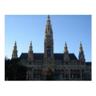 Townhall in Vienna, Austria Postcard