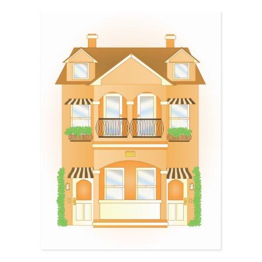Townhouse Postcard