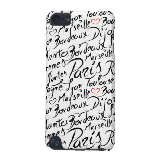 Towns of France Pattern iPod Touch 5G Covers