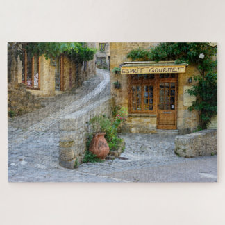 Townscape in Dordogne, France jigsaw puzzle