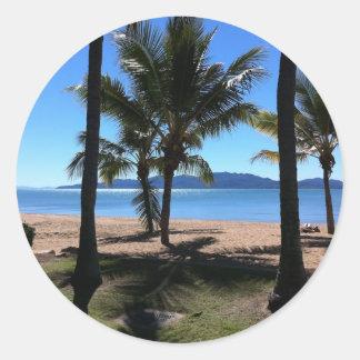 Townsville to Magnetic Island, Australia Round Sticker