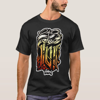 Towny Calligraphy Graffiti T-shirt