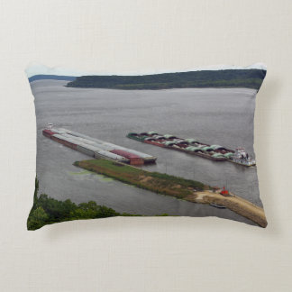 Tows Passing accent pillow