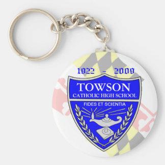 TOWSON CATHOLIC HIGH SCHOOL KEY CHAIN