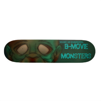 TOXIC 86- B-movie monsters: Zombie 21.6 Cm Skateboard Deck