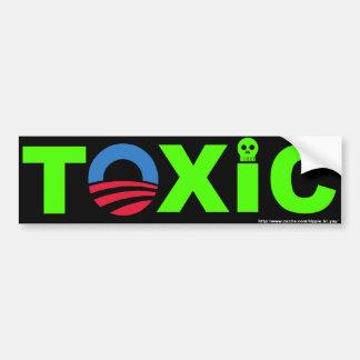 Toxic Bumper Sticker