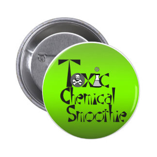 Toxic Chemical Smoothie Circle Buttons