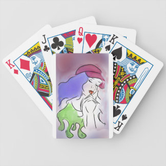 Toxic Galaxy Bicycle Playing Cards