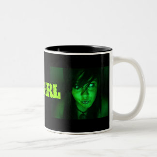 TOXIC GIRL Two-Tone COFFEE MUG