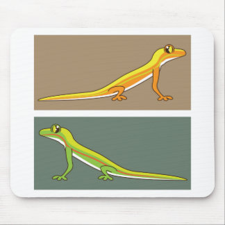 Toxic Lizard Mouse Pad