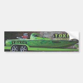 Toxic Motorsports Bumper Sticker