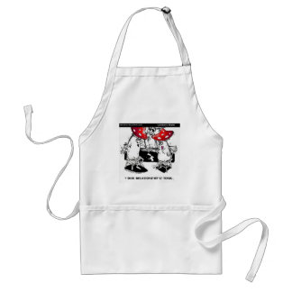 Toxic Relationships Funny Gifts Tees Collectibles Standard Apron