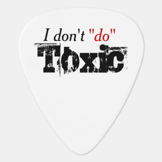 Toxic Relationships Guitar Pick