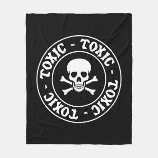 Toxic Skull Blanket