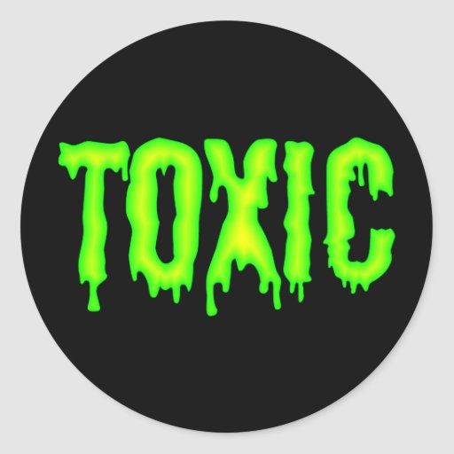Toxic Sticker