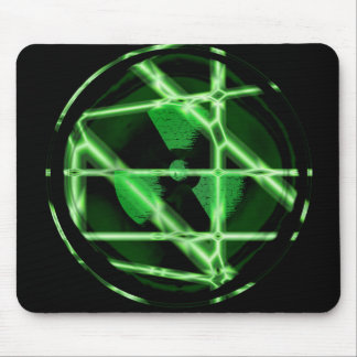 Toxic Symbol Mouse Pad
