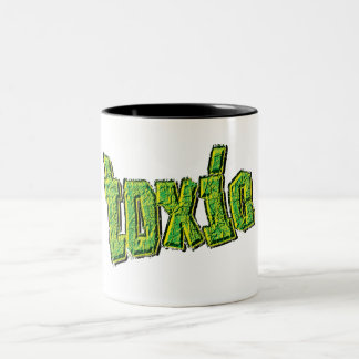 toxic Two-Tone coffee mug