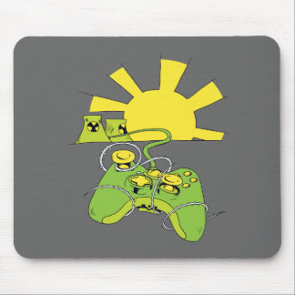 toxic video game pad controller mouse pad