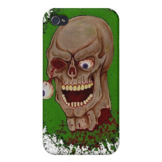 Toxic Zombie iPhone 4 Case
