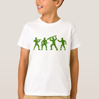 Toy Army Men T-Shirt in Green